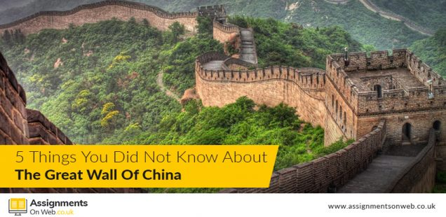 5 Things You Did Not Know About the Great Wall of China